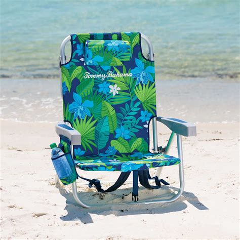 tommy bahama backpack cooler beach chairs green floral 2 tommy bahama backpack cooler beach chairs green floral
