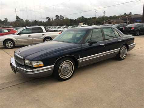 automobile air conditioning repair 1992 buick park avenue electronic valve timing 1992 buick park avenue 4dr sedan ultra 27859 miles blue sedan 3 8l v6 cylinder a