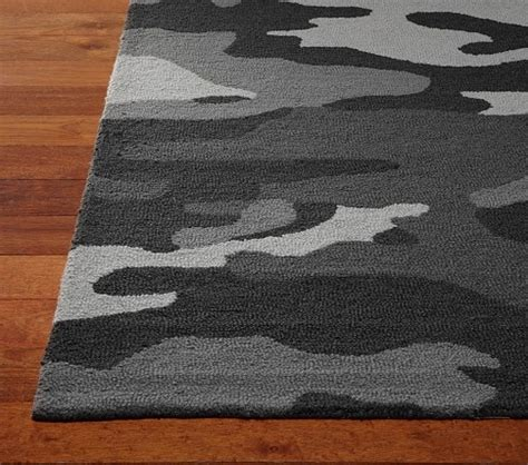 boy rugs camo rug pottery barn boy bedroom