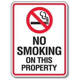 no smoking signs canada no smoking signs no smoking on this property from seton