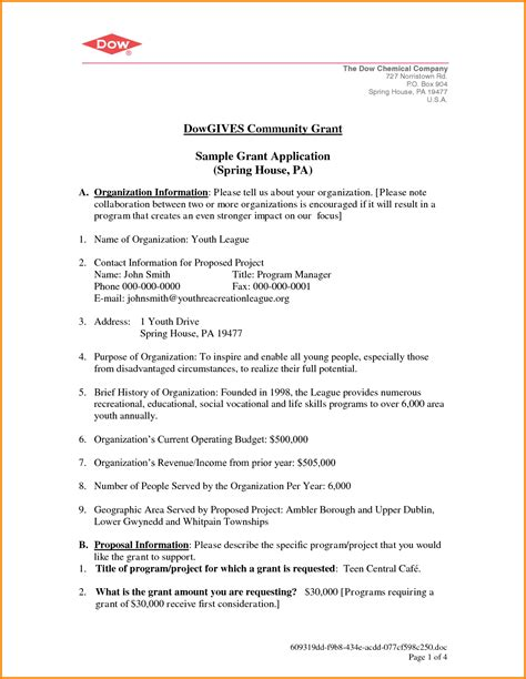 Grant Officer Cover Letter Cover Letter Research Grant Application Cover Letter