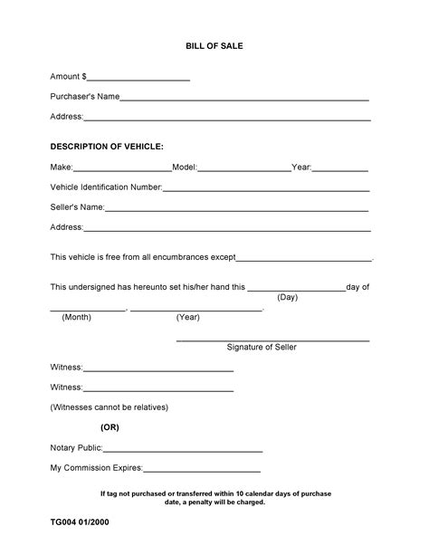 madison county alabama bill  sale form  docx