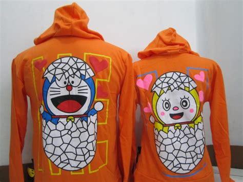 Baju Kembaran Family Doraemon Imlek jaket doraemon orange b pusat souvenir kerajinan cenderamata dan pakaian