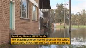 ahok forbes flood sees forbes residents evacuated abc news