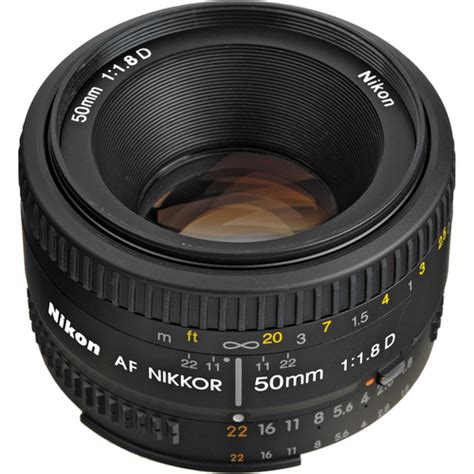 Nikon Af 50mm F1 8d nikon 50mm f1 8d af lens nikkor 163 93 uk