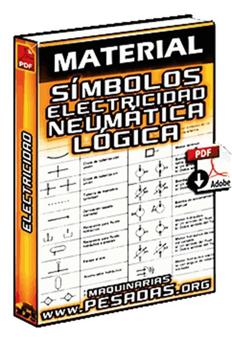 libro smbolo y simbologa en material s 237 mbolos de electricidad neum 225 tica y l 243 gica maquinaria pesada