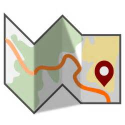 map clipart free folded travel map clip