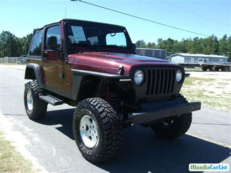 jeep wrangler automatic for sale jeep wrangler automatic 2001 for sale manilacarlist