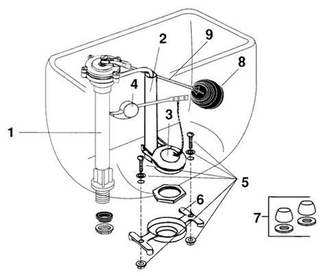 Eljer Faucet Replacement Parts by Eljer Patriot Series Toilet Repair Parts