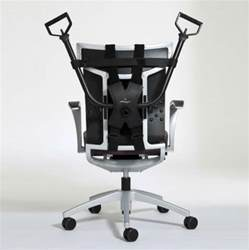 this workout device attaches your work chair for