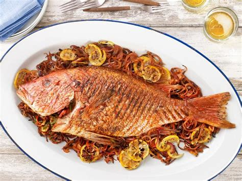 Fish Grill Recipe by Style Grilled Fish Recipe Duff Goldman Food