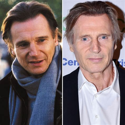timothy dalton now and then it s liam neeson s 64th birthday see the cast of love