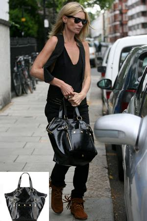 Kate Moss Ysl Downtown Tote by Taschen Ahoj Djane Couture Fashion Dress Room