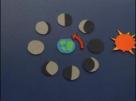 ejemplos de maqueta para las fases lunares c 243 mo identificar las fases de la luna youtube