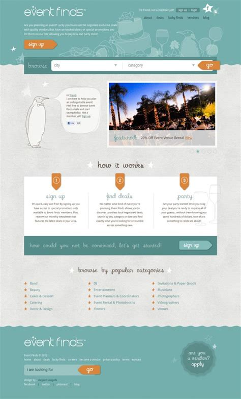 event web page design best web design websites beautiful inspiration gallery