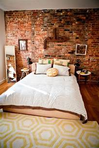 Great Entryways 65 Impressive Bedrooms With Brick Walls Digsdigs