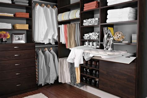 fold out ironing board easyclosets