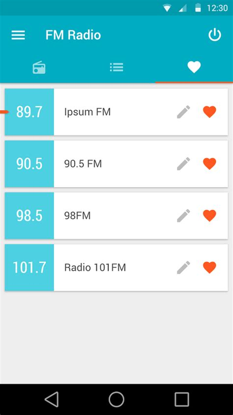 android fm radio tuner report at t wants all its android phones to an active fm radio tuner starting next year