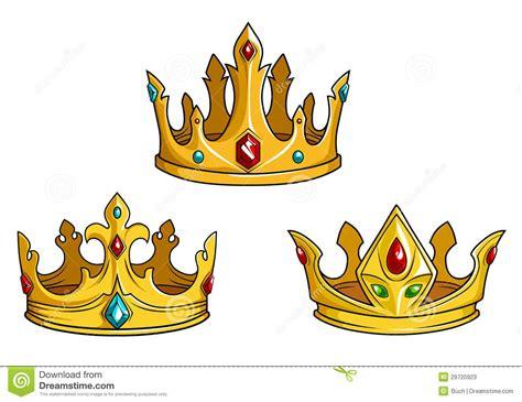 persianas krone coronas de oro reales con joyer 237 a fotos de archivo