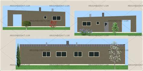 tarif bois moderne 4 chambres au m2