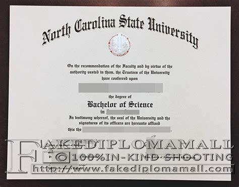 Ncstat Mba Degrees by Ncsu Diploma Buy Carolina State