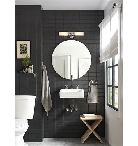 Metal Framed Mirrors Bathroom Graydon Wall Sconce Polished Nickel Wall Sconces And Solid Brass