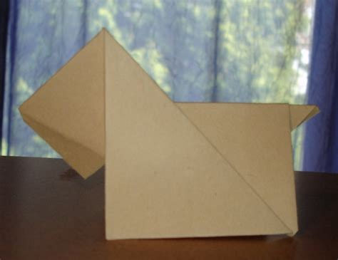 Origami Scottie - origami scottie by pandaraoke on deviantart