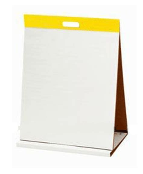 How To Make A Flip Chart With Paper - easel pads flip chart paper tabletop easel pads