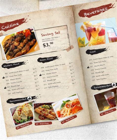 design cafe pacific design center menu 15 inspirational food menus designs designdune