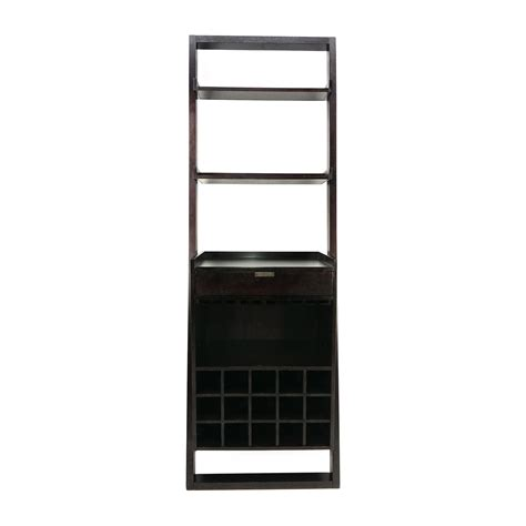 Crate And Barrel Wine Racks by 56 Crate And Barrel Crate And Barrel Leaning Wine Rack Storage