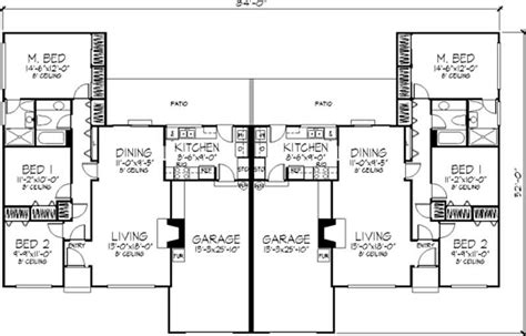 multi unit plans ideas house plans 50142