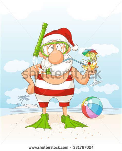 A C C E P T Claus Sandals White santa clipart 91