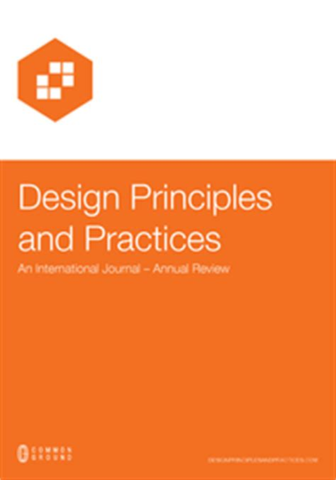 journals design principles practices research network