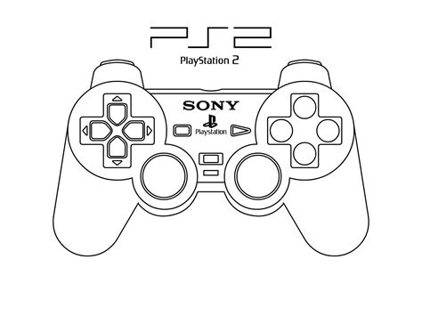 Coloring Page Xbox Controller by Controller Drawing At Getdrawings Free For Personal