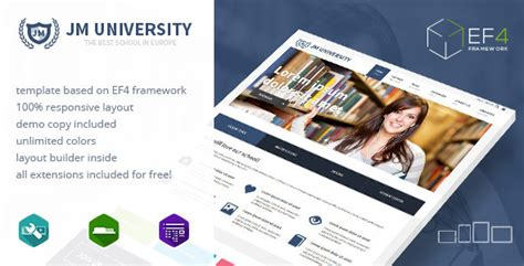 xenporta layout download jm university v1 1 3 multipurpose education template