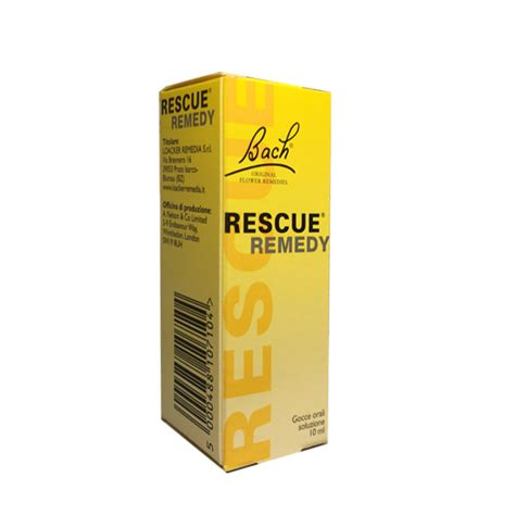 rescue remedy fiori di bach rescue remedy gocce 10 ml farmacia casci