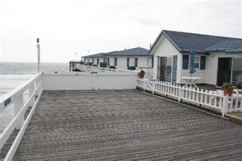 back of room picture of crystal pier hotel cottages