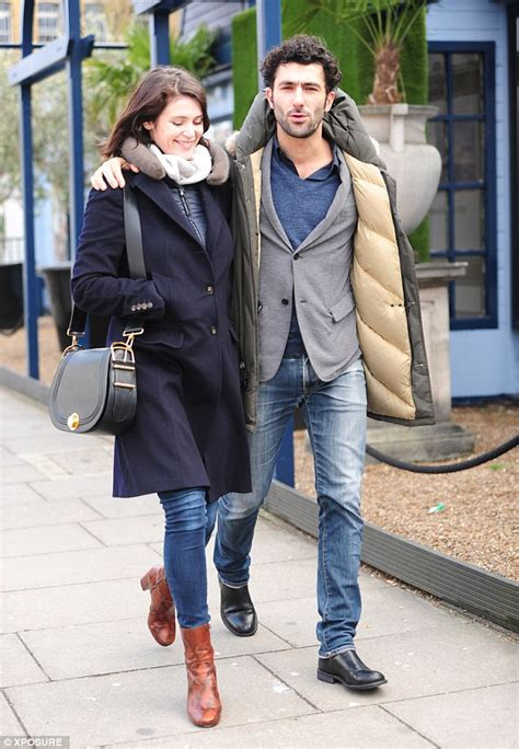 Blue Print Of A House Gemma Arterton Looks Loved Up With French Beau Franklin