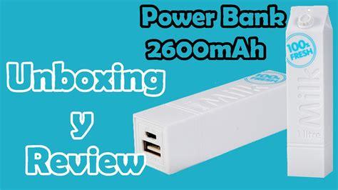 design milk youtube unboxing y review power bank milk design de 2600mah en