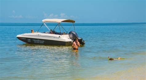 boat rental near cape coral fl anchoring near the beach picture of caloosa river boat