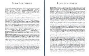 Leasing Agreement Templates doc 821525 lease agreement template bizdoska com