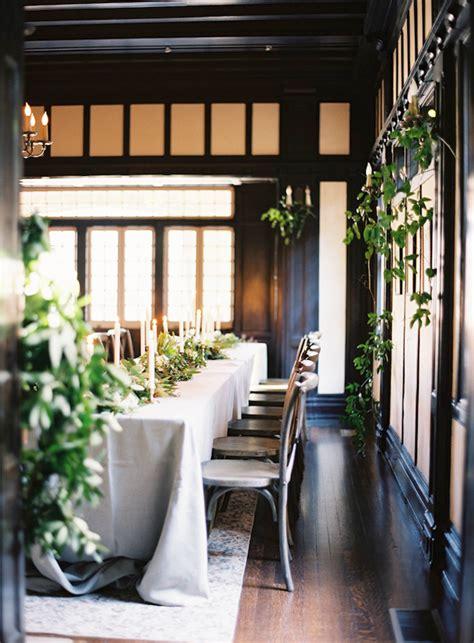 organic indoor winter wedding indoor wedding ideas