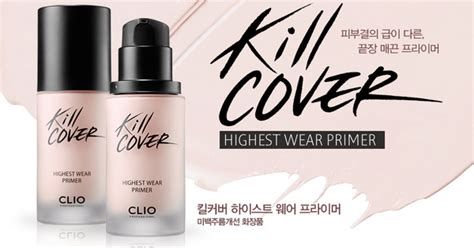 Fashion Primer Returns With 6 by Clio Kill Cover Highest Wear Primer Kstylick