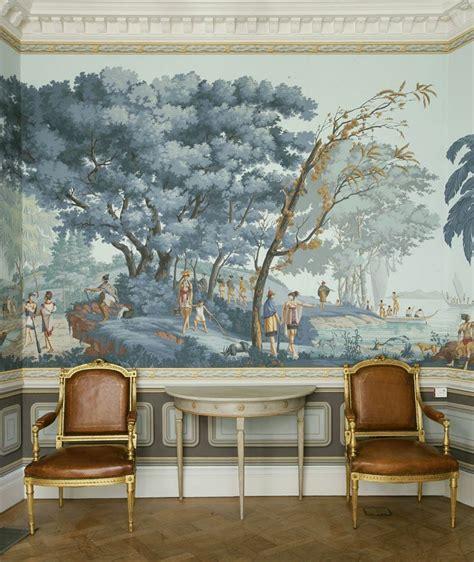 Hermes Home Decor grisaille murals wallpapers art screens part ii laurel