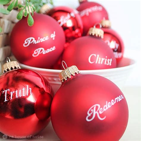 20 diy ornaments about jesus christ