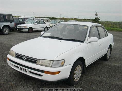 Toyota Corolla Sedan 1993 Used 1993 Toyota Corolla Sedan Se Limited E Ae100 For Sale