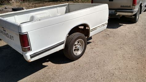 s10 bed pickup bed trailer s10 with cragar mags wheels perfect