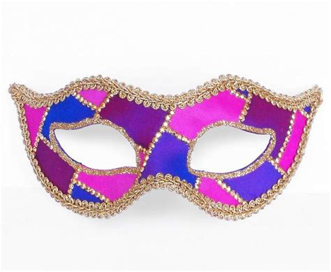 pink and blue mardi gras purple blue pink and gold masquerade mask venetian by
