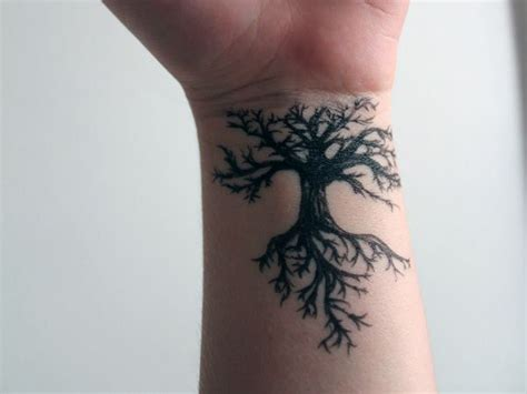 nature wrist tattoos because everything doesn t always show on the surface