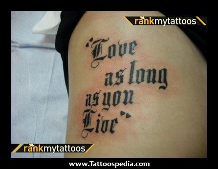 tattoo quotes girly girl tattoos quote girly tattoos